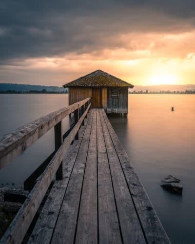 Boathouse de Kochelsee, Allemagne Bavière Geoffrey Lje