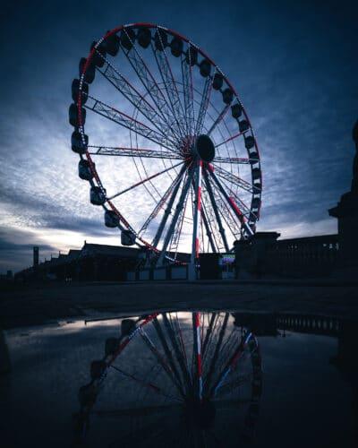 Grande roue Anvers Moody street photography Geoffrey Lje