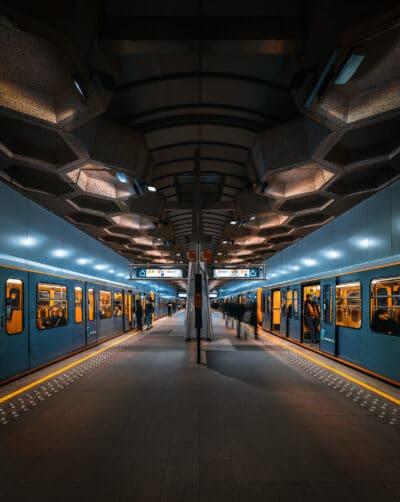 Station de métro Belgica, Bruxelles Geoffrey Lje