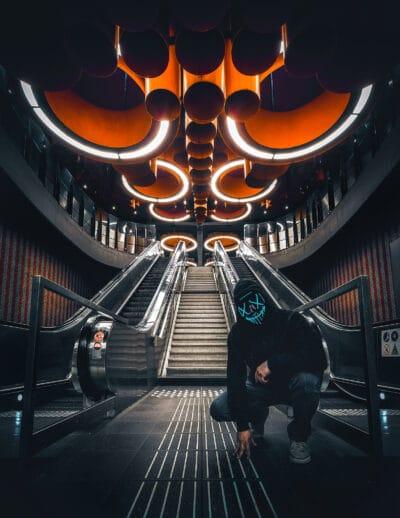 Station de métro Pannenhuis, Bruxelles Geoffrey Lje