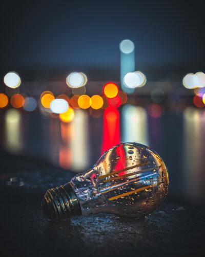 Ampoule nuit Liège pont de fragnée Geoffrey Lje