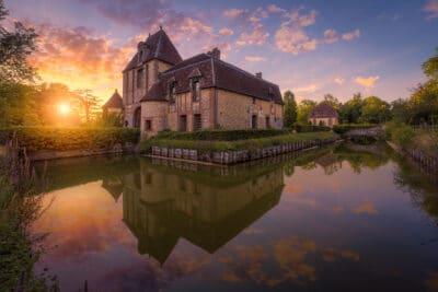 Château du bois franc, Normandie France Center parc Geoffrey Lje
