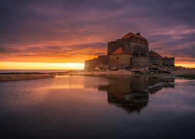 Fort d'Ambleteuse - Côte d'Opale france mer coucher de soleil marée basse Geoffrey Lje